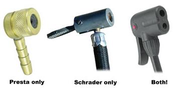 Presta /& Schrader AXIOM Rushair 160 Bicyclette Pompe-Jusqu/'à 160 PSI